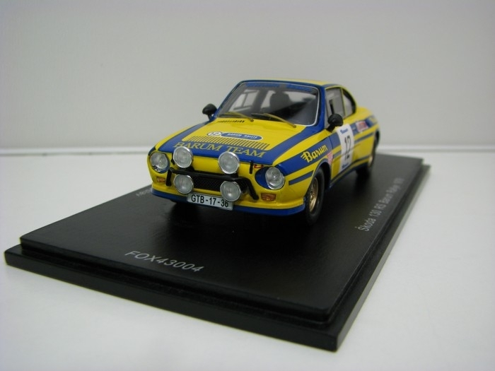Škoda 130RS No.12 Sivík-Čermák Barum Rally 1979 1:43 FOX18